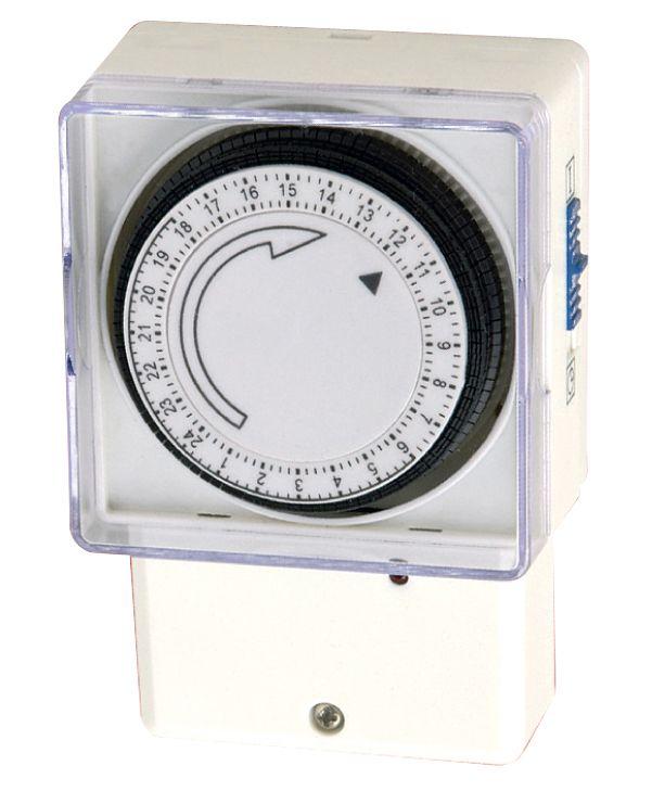 Bq 24 Hour Mechanical Timer Departments Diy At Bq