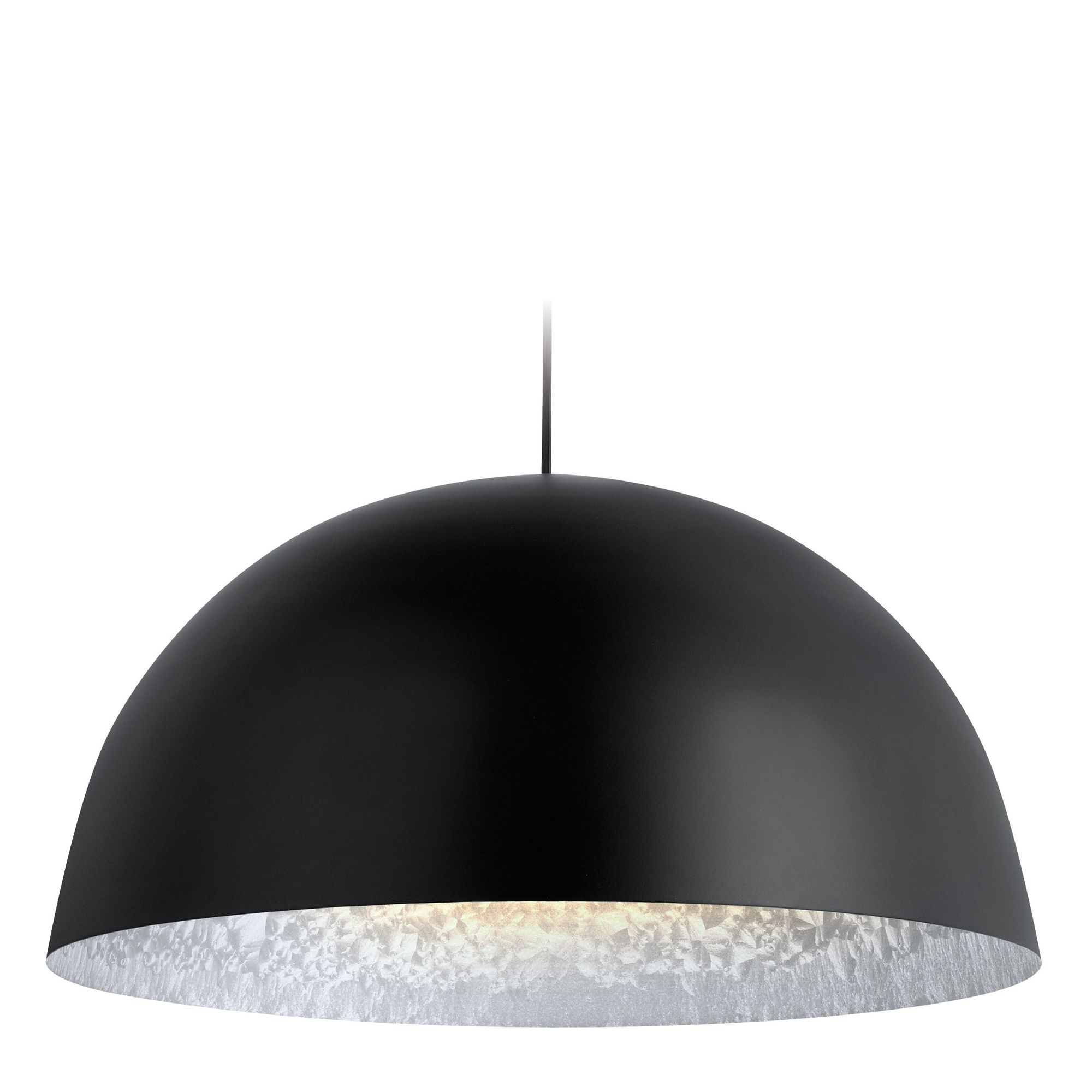 ceilings room pendant ceiling pin dining light fixture lighting paper modern mache hemisphere black lamp