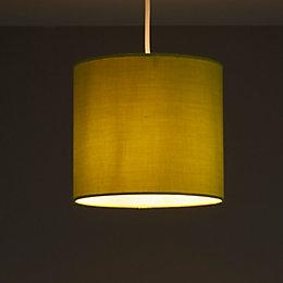 Colours Haymarket Green Light shade (D)200mm
