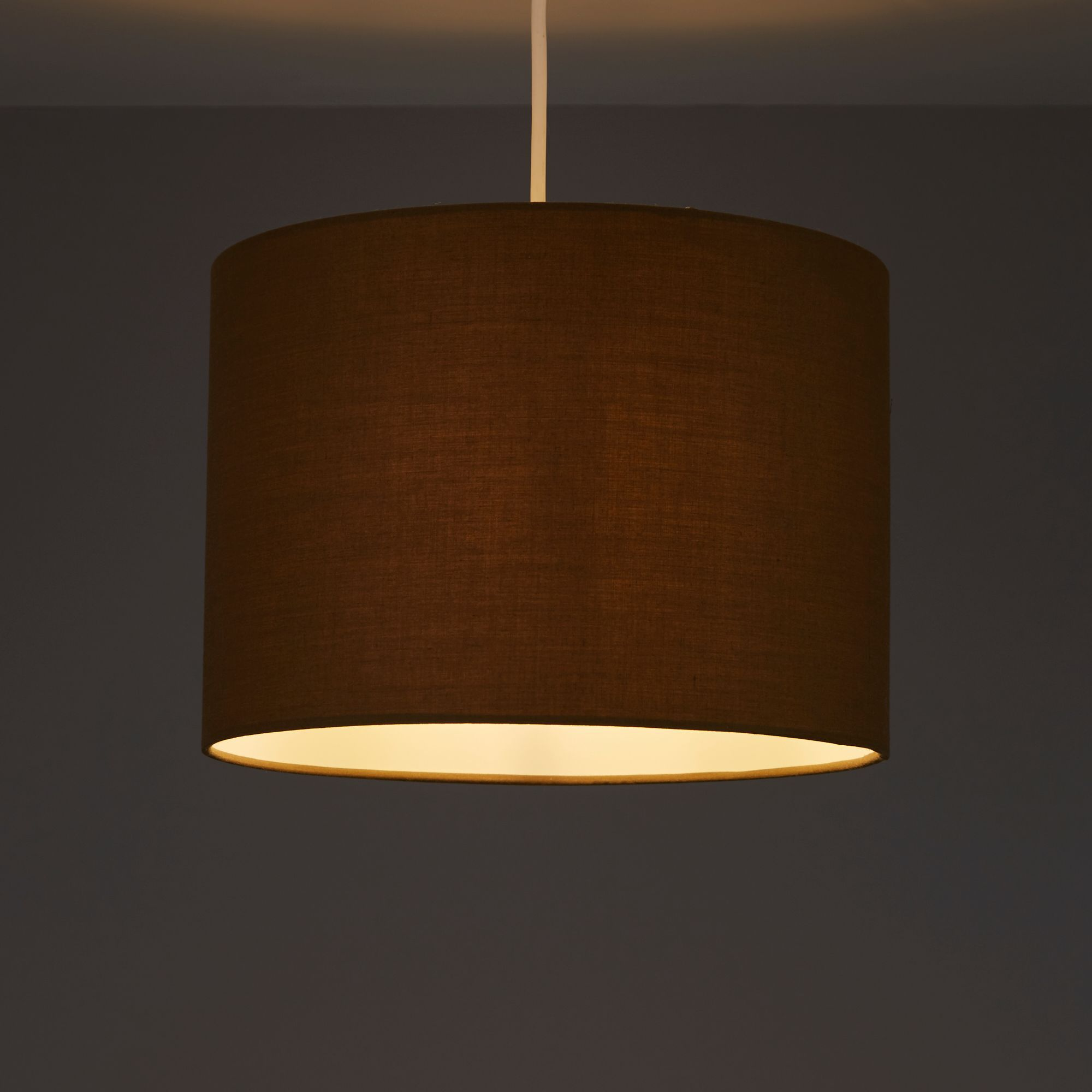 Colours Fairbank Pepper Drum Light shade (D)280mm