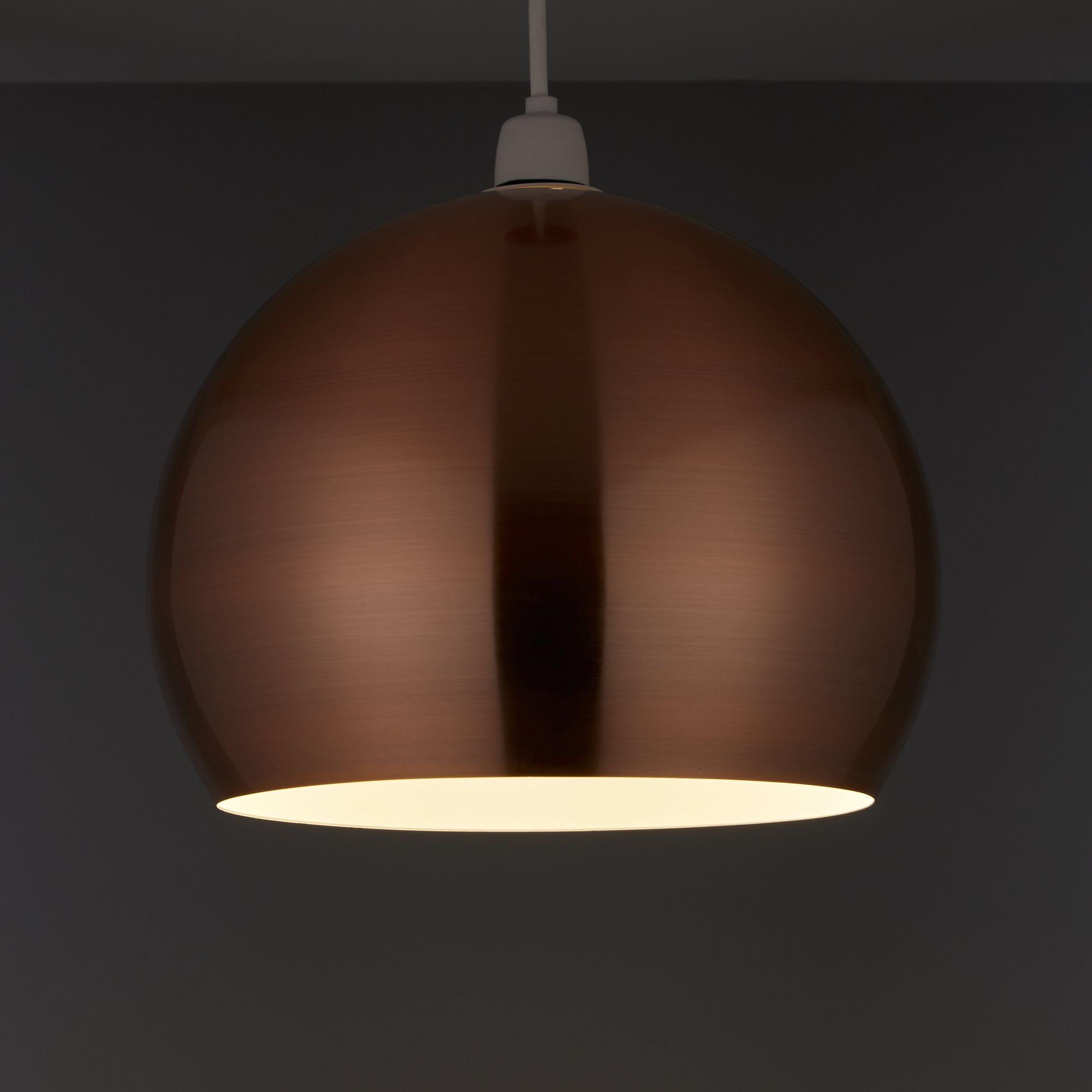 Nell Copper Pendant Light Shade (D)280mm