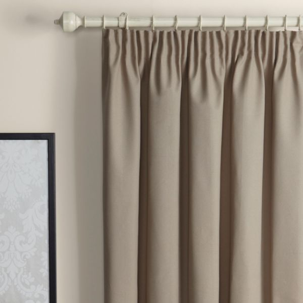 Width of curtains for pencil pleat curtain menzilperdenet for Roller pleat curtains