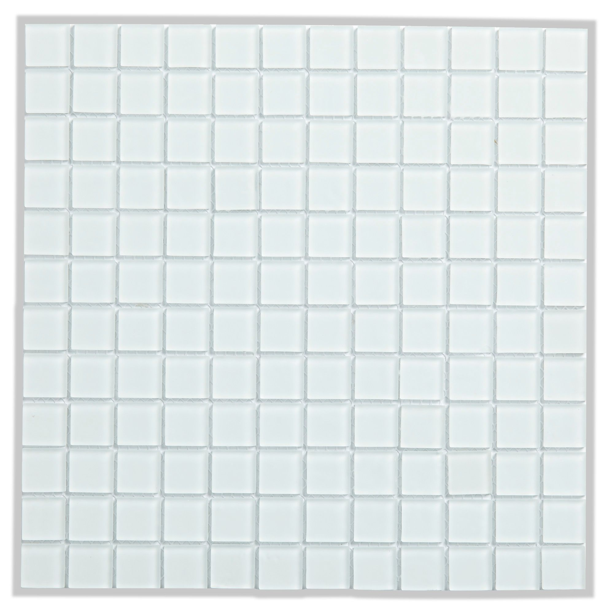 Green Glass Marble Mosaic Tile L 300mm W 300mm: Frosted Glass White Glass Mosaic Tile, (L)300mm (W)300mm