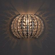 Galeo Chrome effect Single wall light