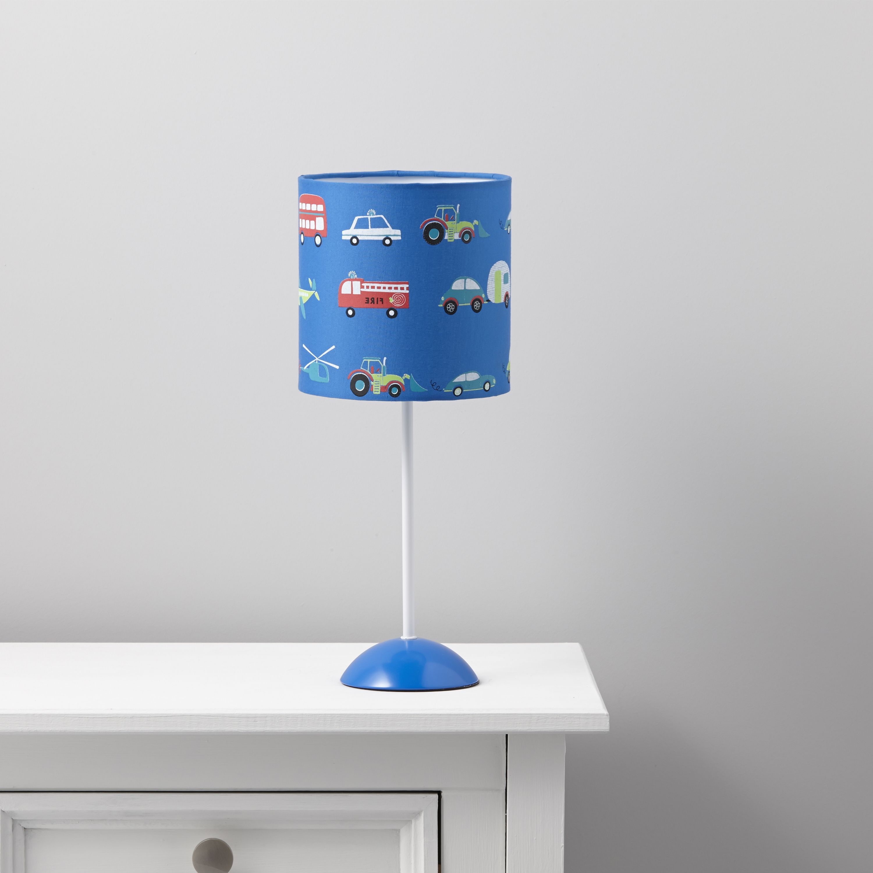 Friedrich Transport Blue Table Lamp