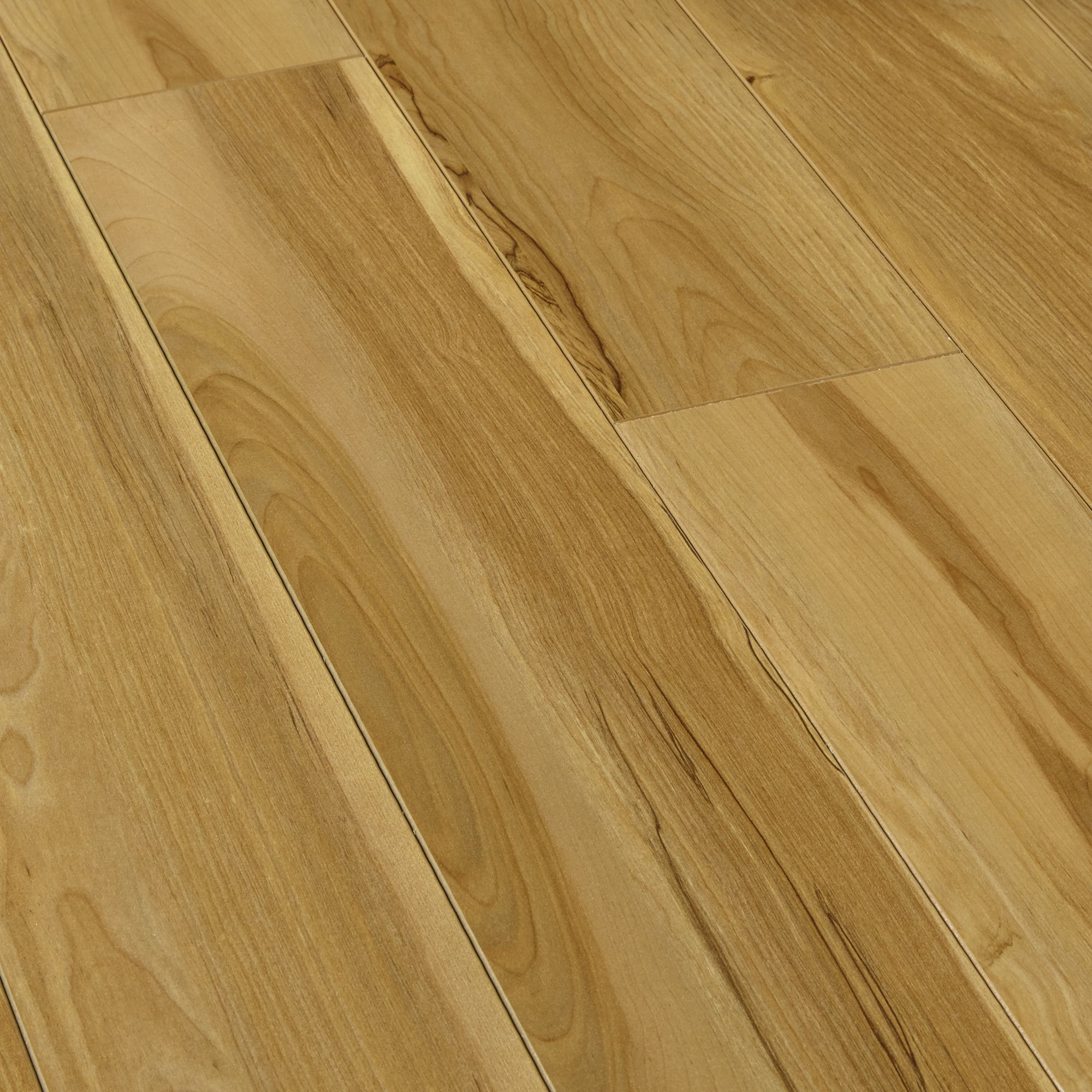 Scherzo natural light walnut effect laminate flooring for Laminate floor panels