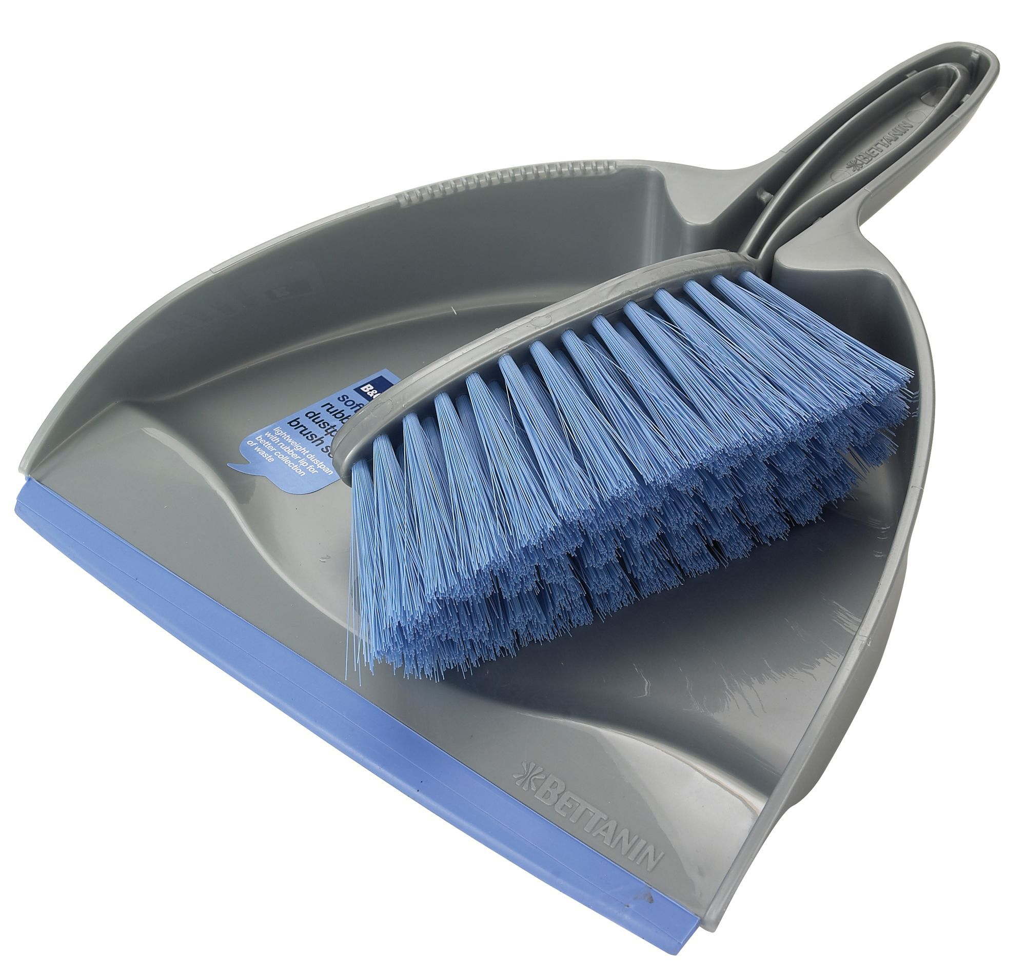B&Q Dustpan & soft brush | Departments | DIY at B&Q