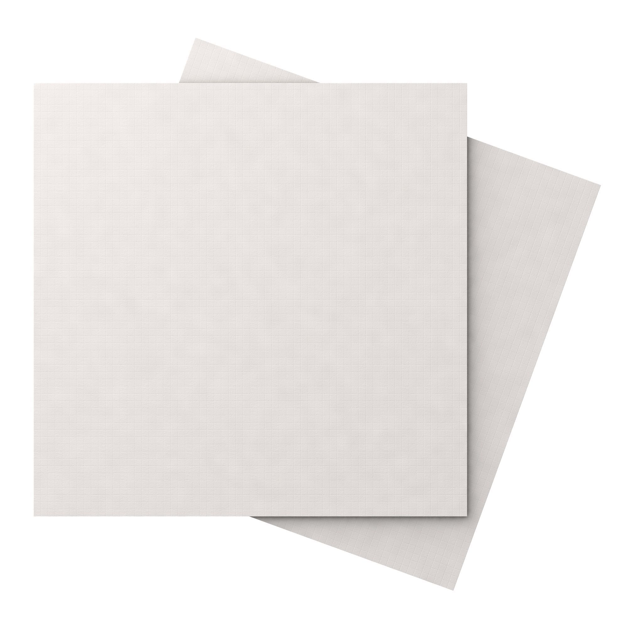 Soho white porcelain floor tile pack of 3 l600mm w600mm soho white porcelain floor tile pack of 3 l600mm w600mm departments diy at bq dailygadgetfo Choice Image