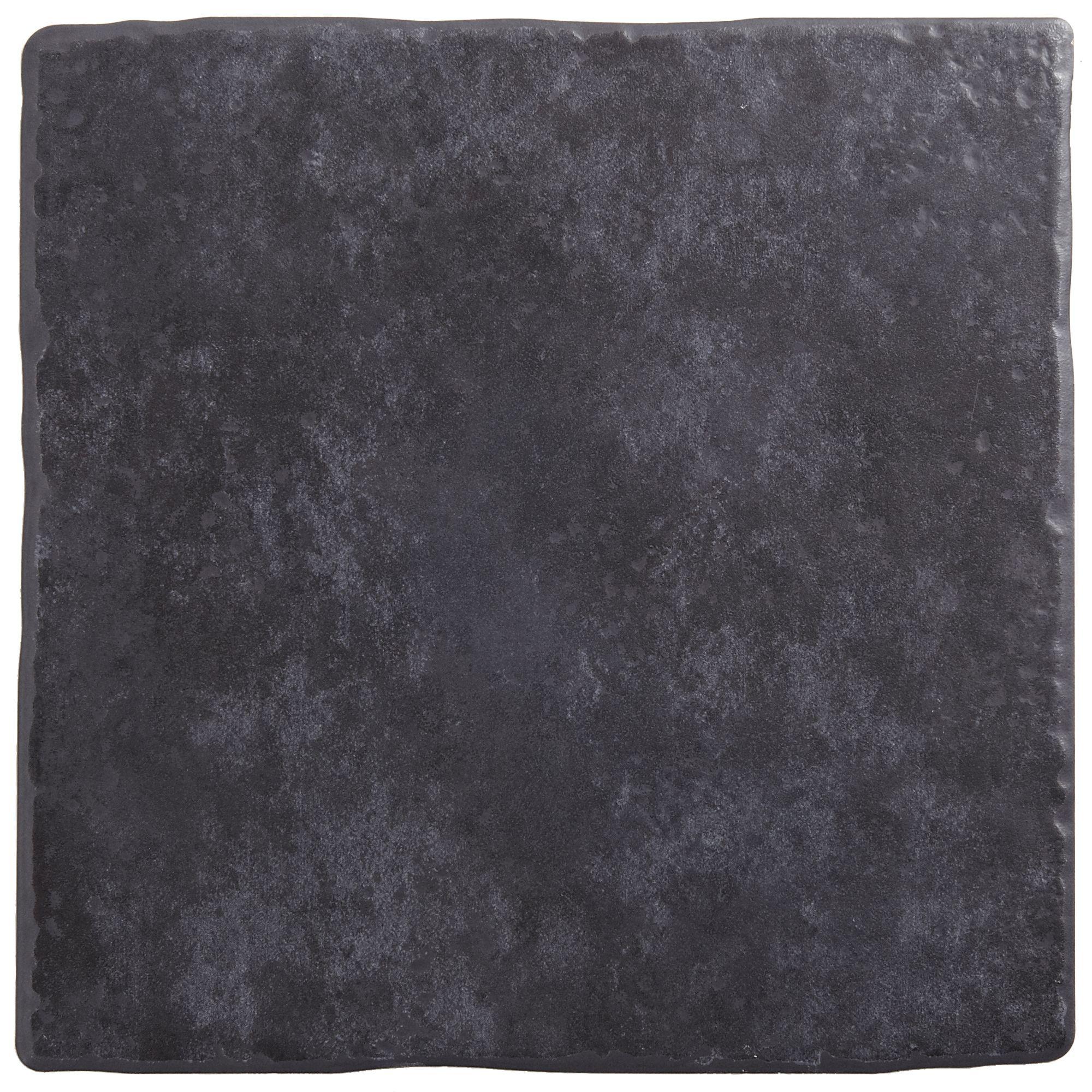 Calcuta Black Stone Effect Ceramic Floor Tile Pack Of 9 L 330mm