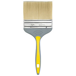 Diall Loss Free Soft Tipped Paint Brush (W)4""
