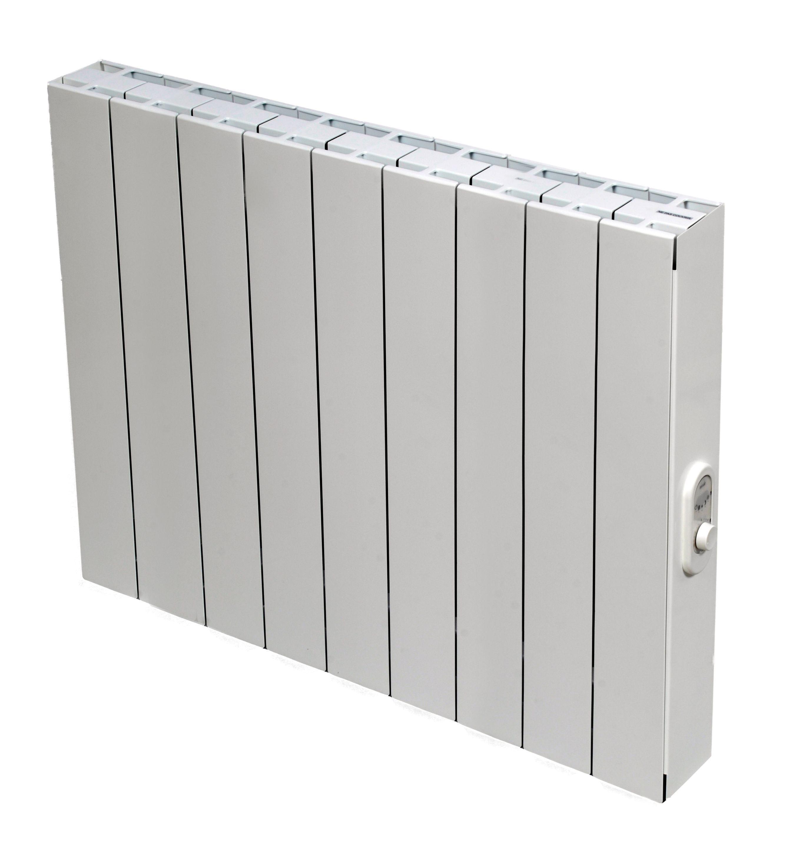 Blyss Electric 1500w White Thermostatic Radiator