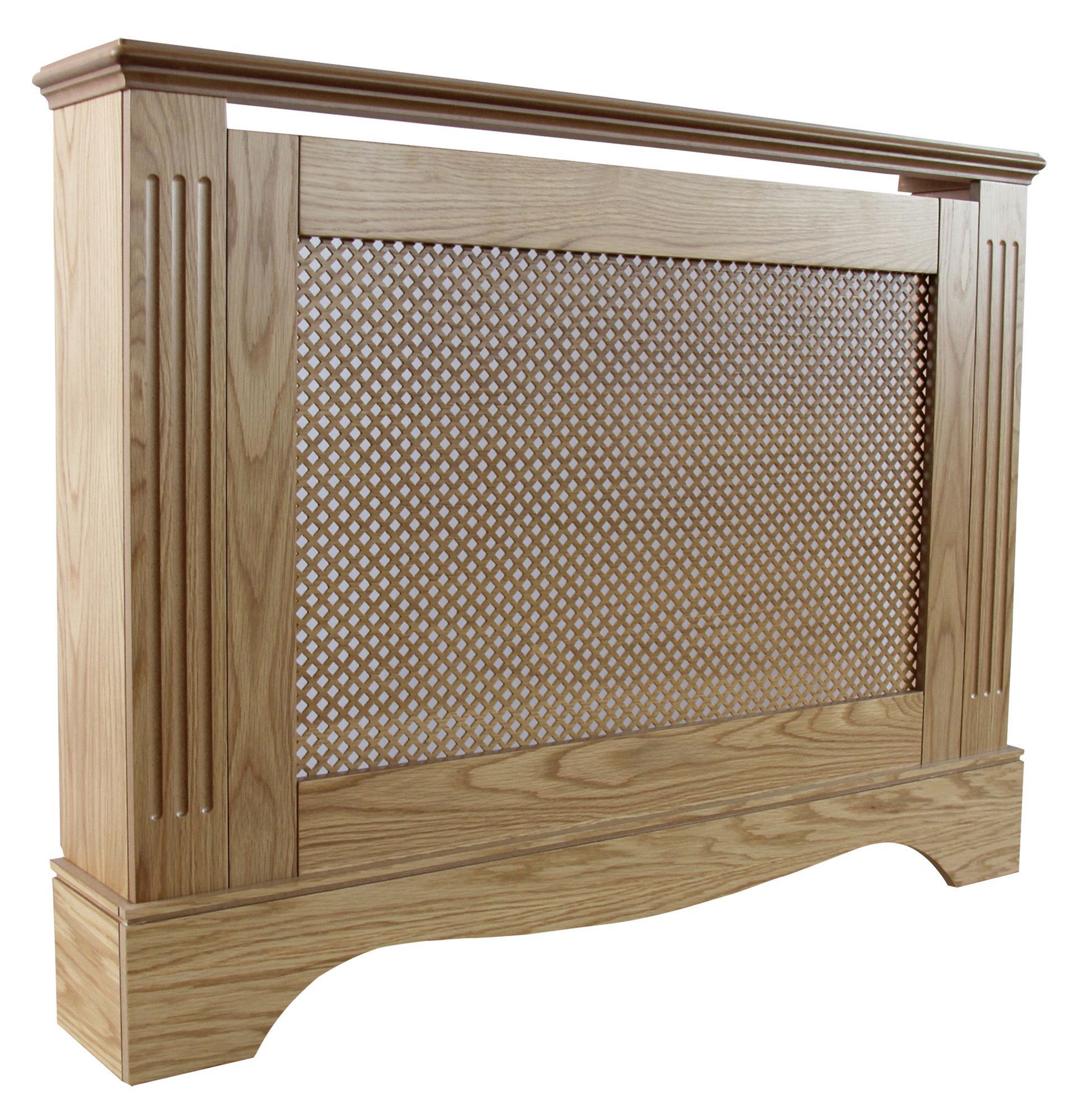 Diy At B Q: Berkshire Medium Oak Effect Radiator Cover