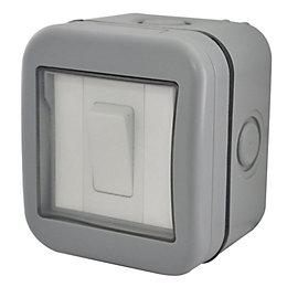 Diall 1-Gang 2-Way 10A External Switch