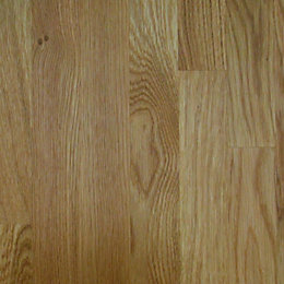 27mm Square edge Solid oak Worktop (L)3m (D)600mm