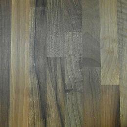 40mm Square edge Solid walnut Worktop (L)3m (D)600mm