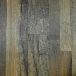 40mm Square edge Solid walnut Island unit worktop
