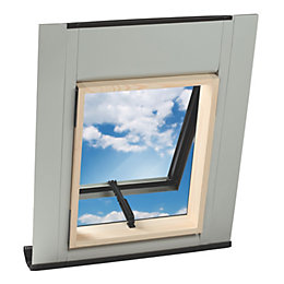 Geom Aero Pine Top hung Roof window (H)550mm