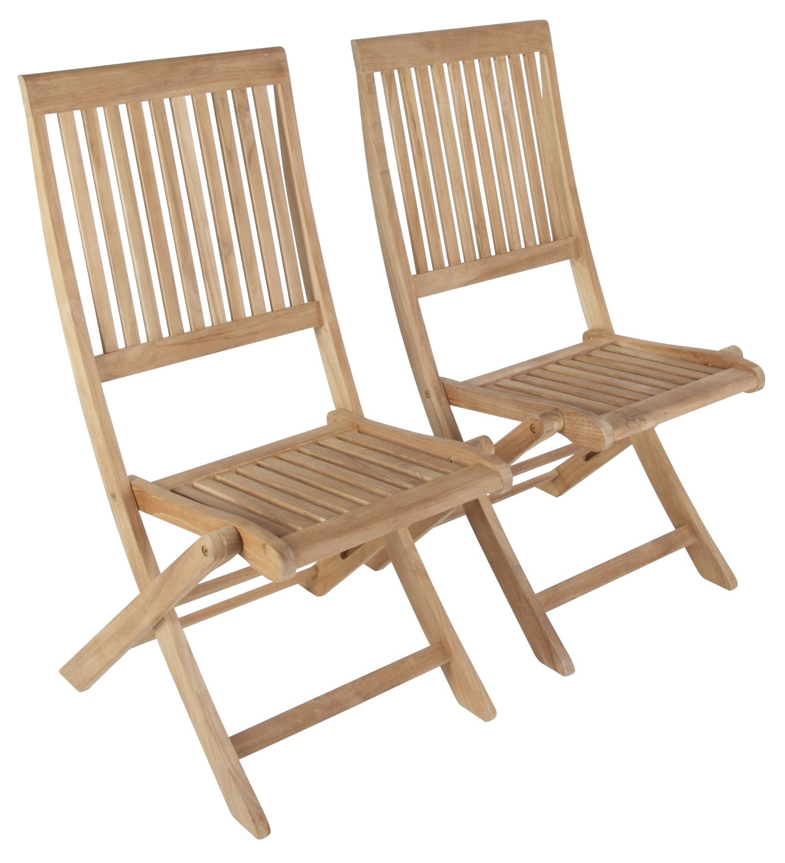 Exceptionnel Roscana Teak Wooden Dining Chair, Pack Of 2 | Departments | DIY At Bu0026Q.