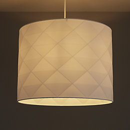 Colours Chrysta White Origami Light Shade (D)400mm