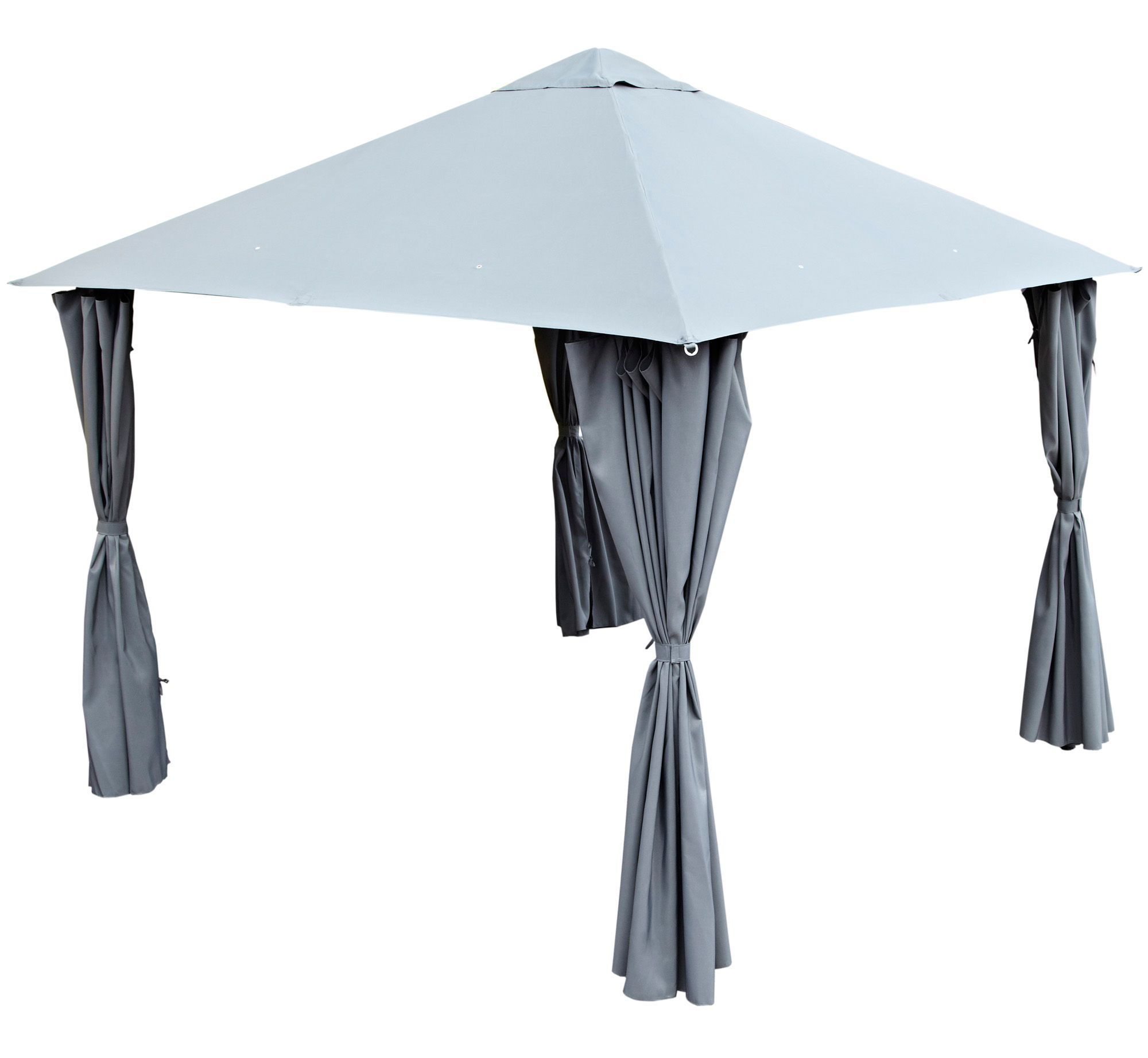 Blooma Shamal Grey Gazebo Departments Diy At B Amp Q