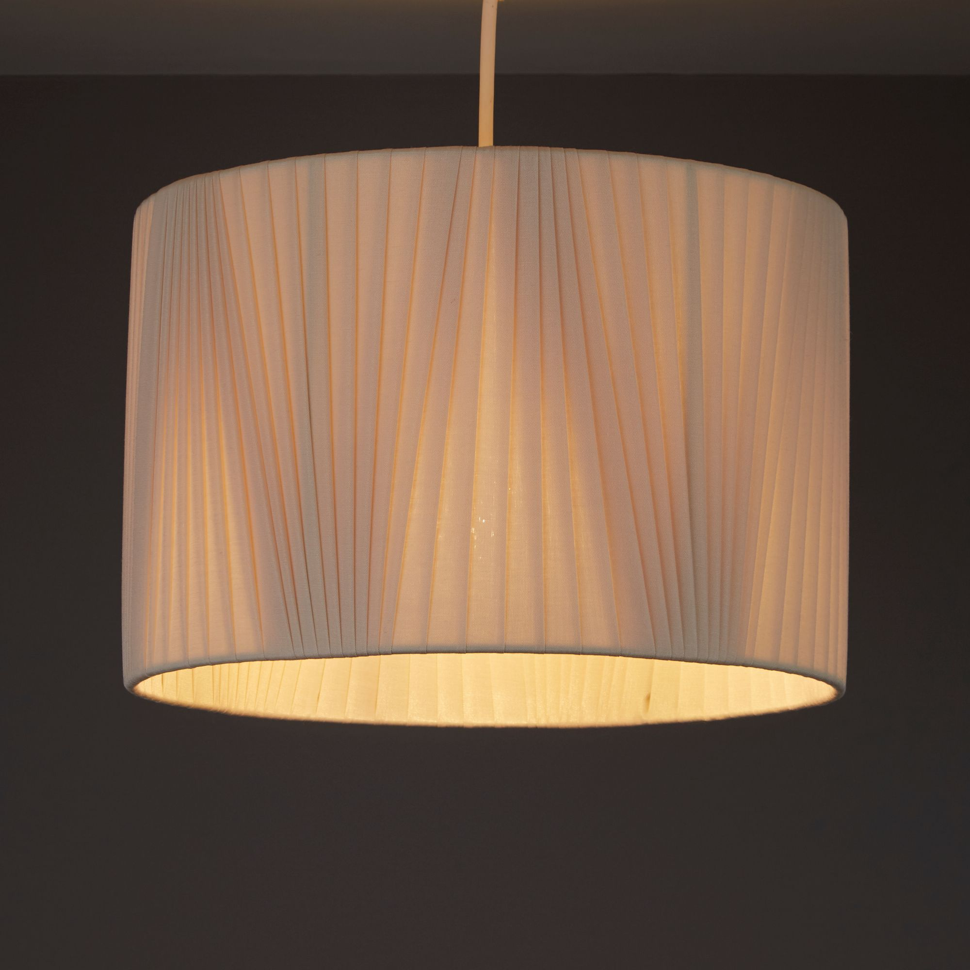 Colours Lainie Pearl V-Pleat Light Shade (D)300mm