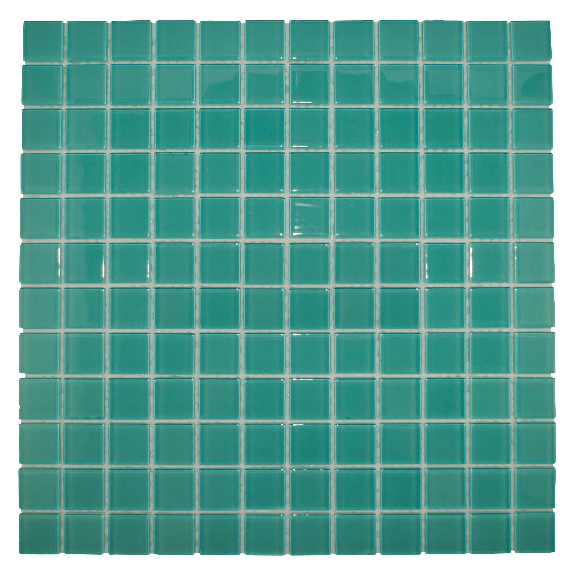 Green Glass Marble Mosaic Tile L 300mm W 300mm: Scarab Glass Mosaic Tile, (L)300mm (W)300mm