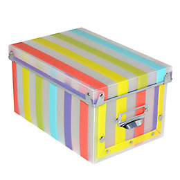 Multicolour Plastic Storage box