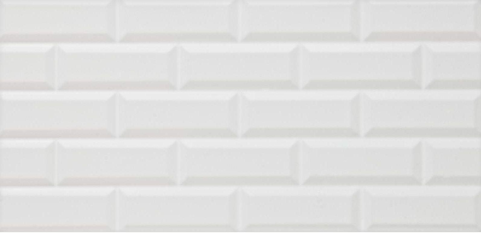 Devol white ceramic wall tile pack of 6 l600mm w300mm devol white ceramic wall tile pack of 6 l600mm w300mm departments diy at bq dailygadgetfo Choice Image