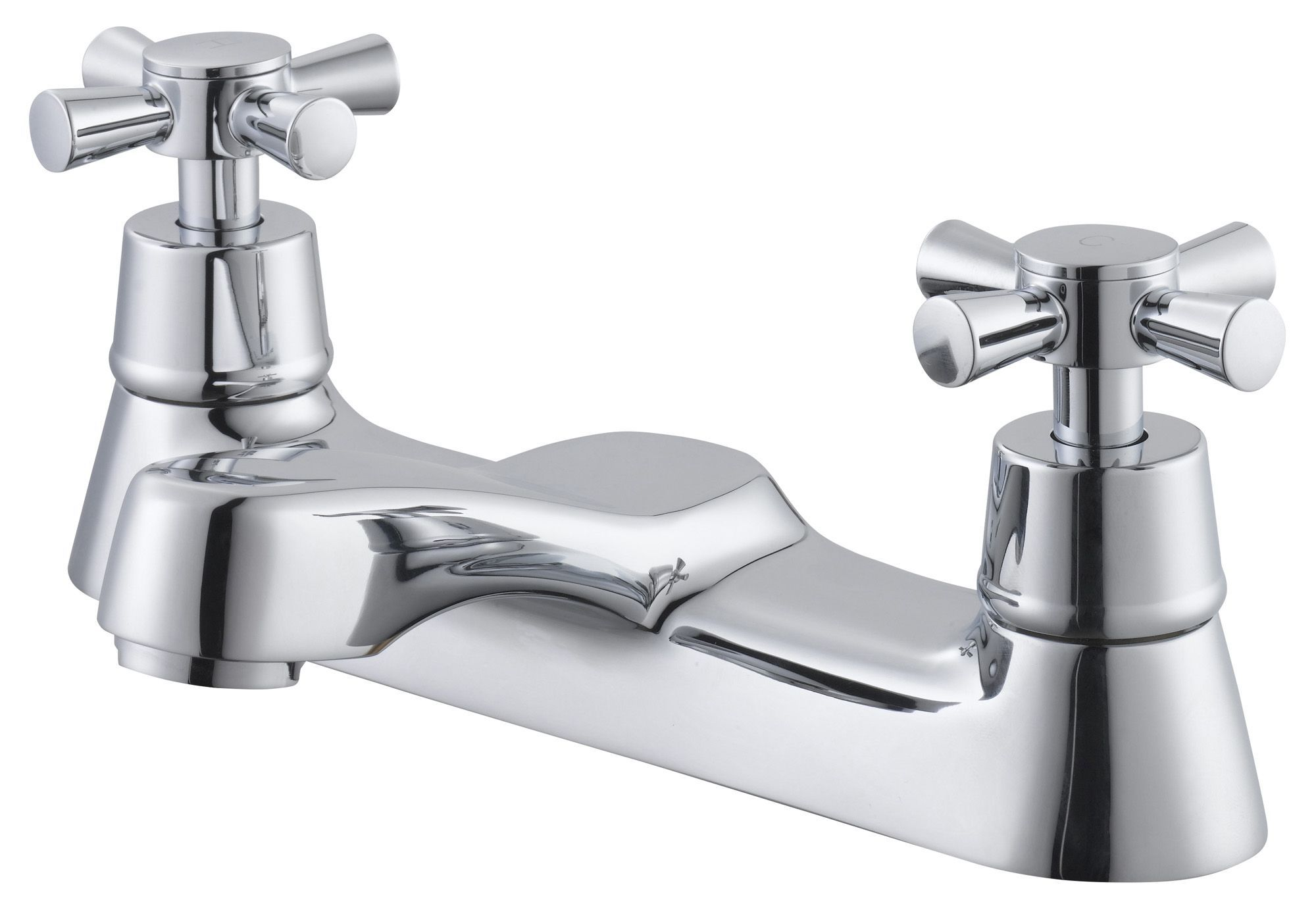 Plumbsure Crystal Chrome finish Bath mixer tap ...