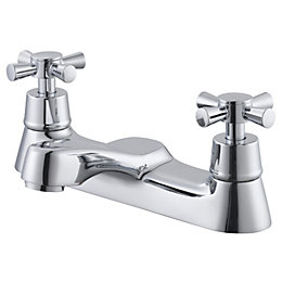 Plumbsure Crystal Chrome Bath Mixer Tap