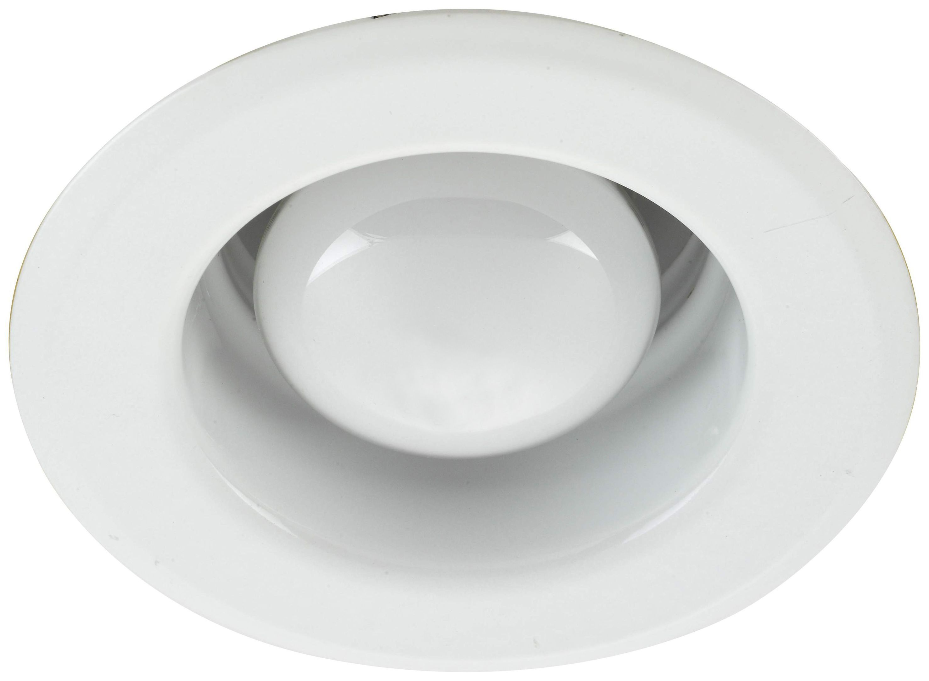 Diall White Chrome Effect Incandescent Fixed Downlight
