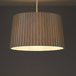 Colours Aubree Mushroom Box Pleat Light Shade (D)340mm
