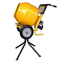 JCB Corded 370W 230V Cement Mixer 134L