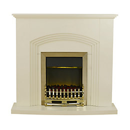 Blyss Kirkdale Cream Electric Fire Suite