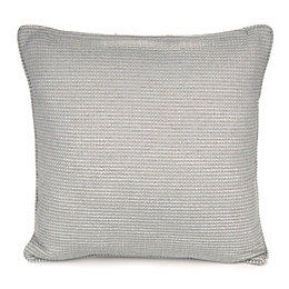 Carina Woven Duck Egg Cushion