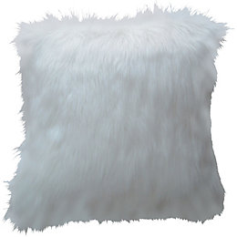Amme Plain Off White Cushion