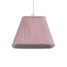 Colours Conwey Heather Pleated Light Shade (D)250mm