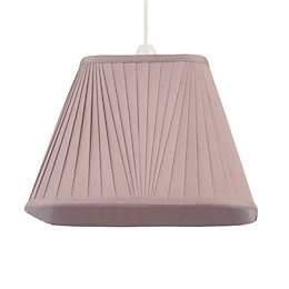 Colours Conwey Heather Pleated Light Shade (D)300mm