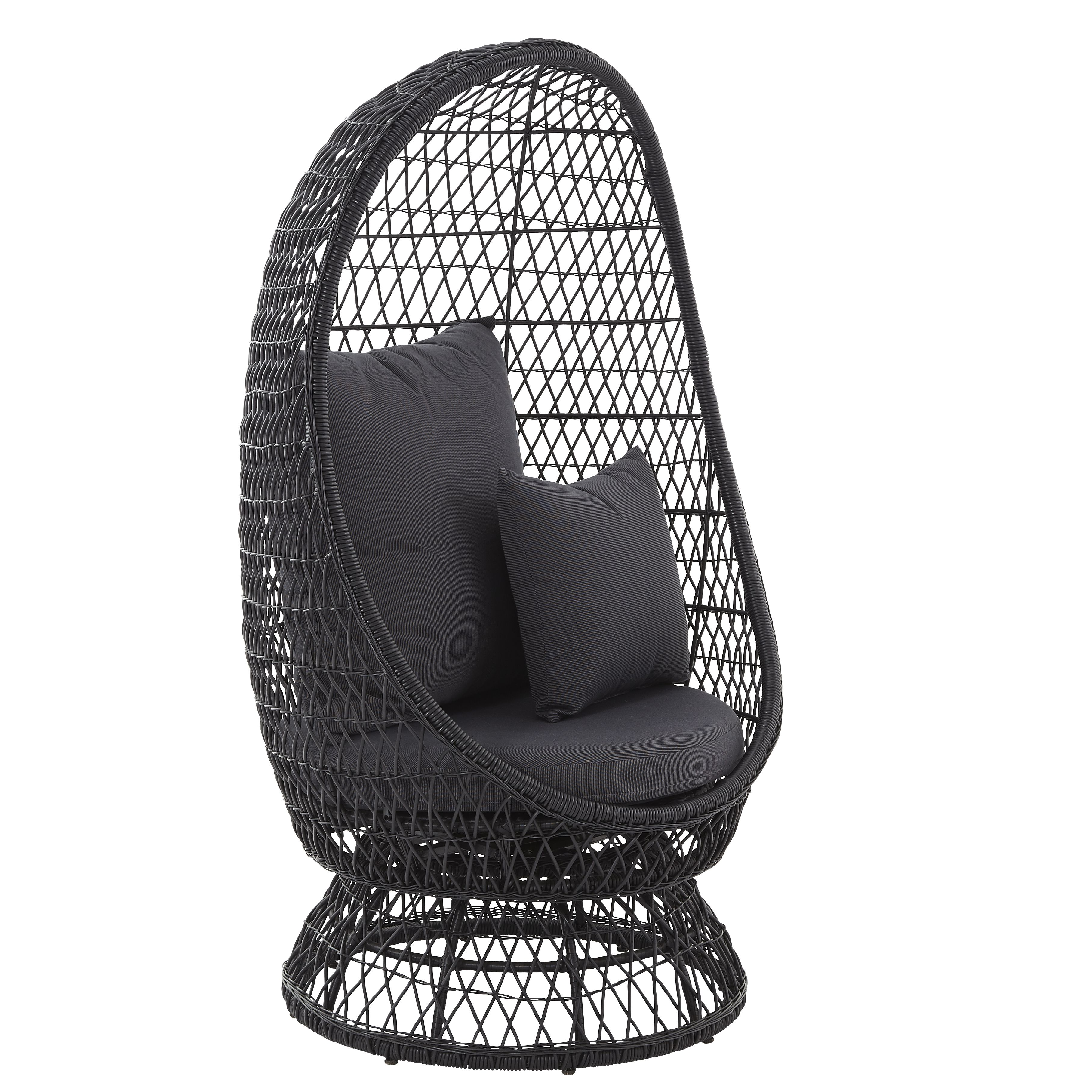 anya rattan effect egg chair departments diy at b q. Black Bedroom Furniture Sets. Home Design Ideas