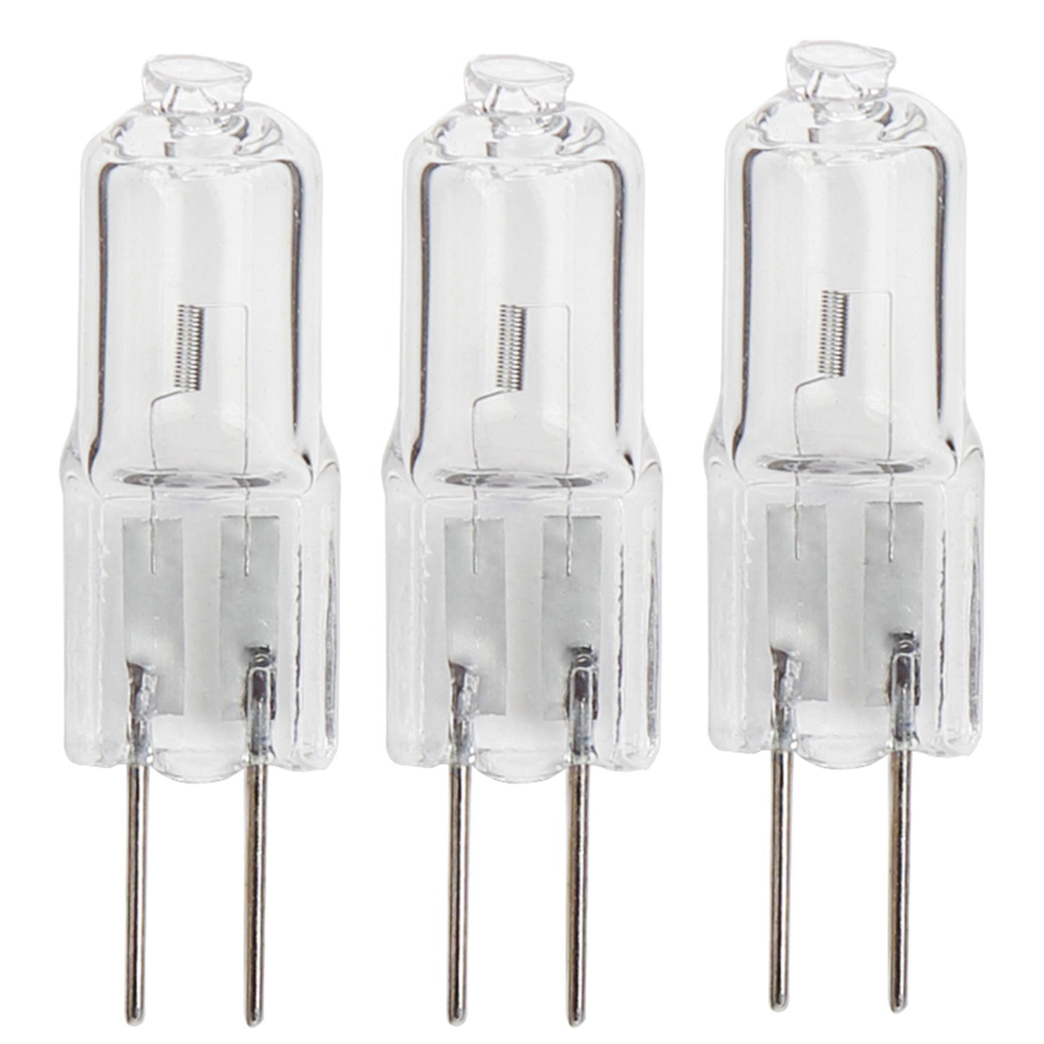 Diall G4 20w Halogen Eco Dimmable Capsule Light Bulb Pack Of 3 Departments Diy At B Q