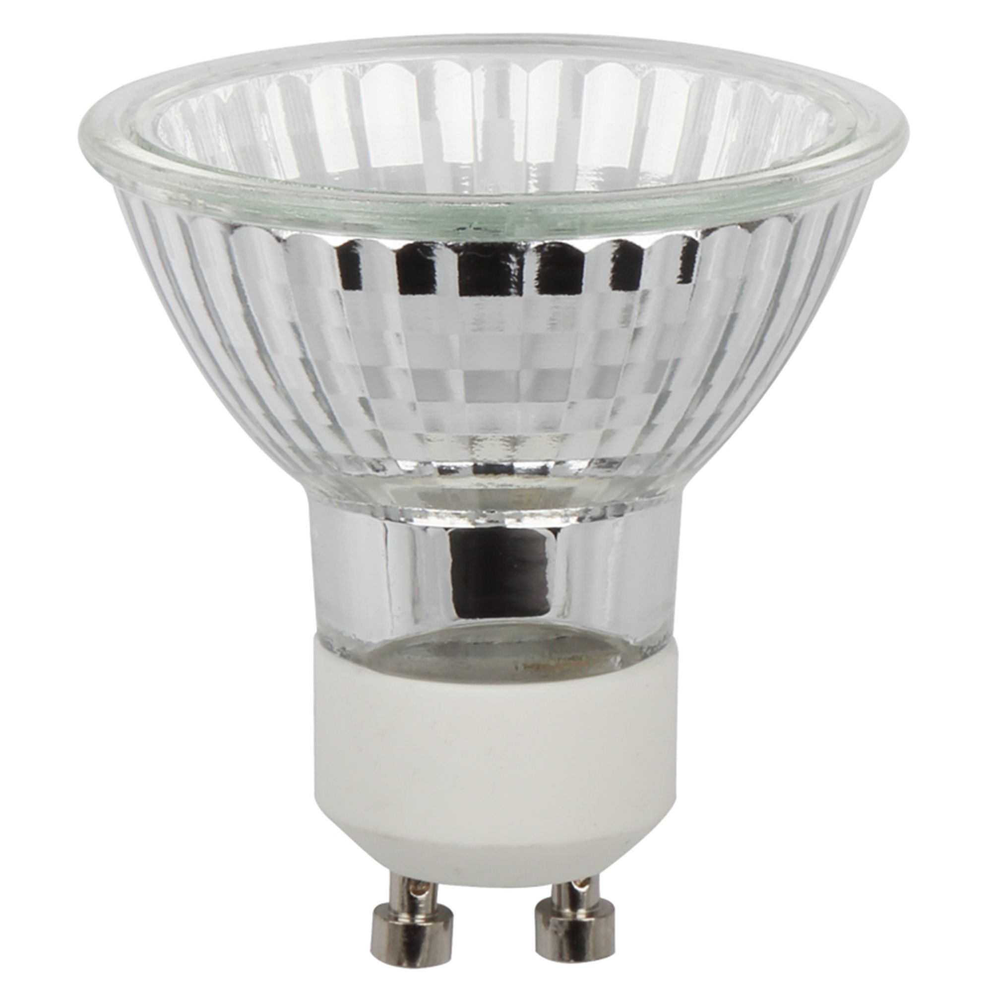 Diall Gu10 28w Halogen Eco Dimmable Reflector Spot Light Bulb Pack Of 8 Departments Diy At B Q
