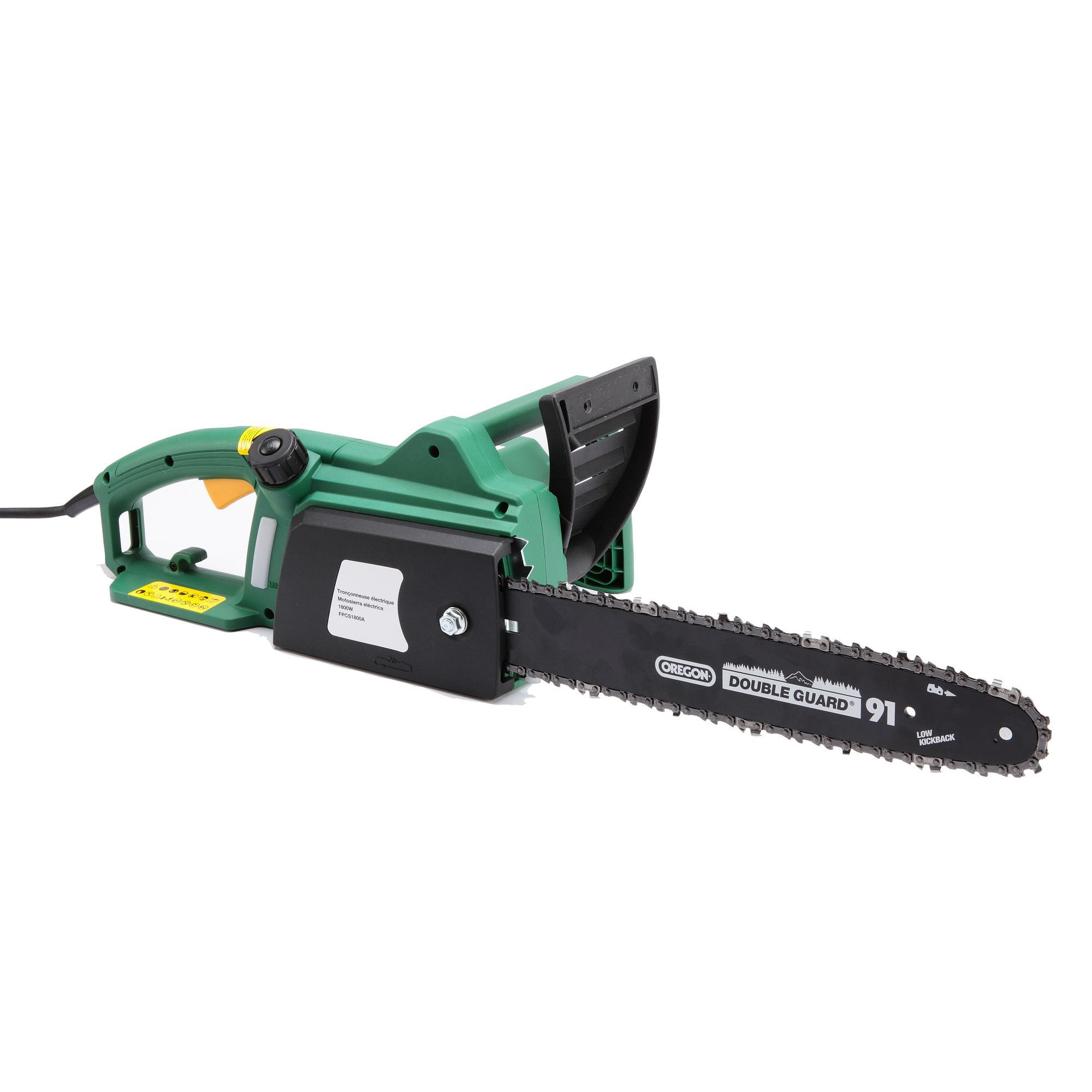 1800w corded electric chainsaw departments diy at bq greentooth Image collections