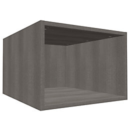 Darwin Modular Grey Oak Effect Bridging Cabinet (H)352mm