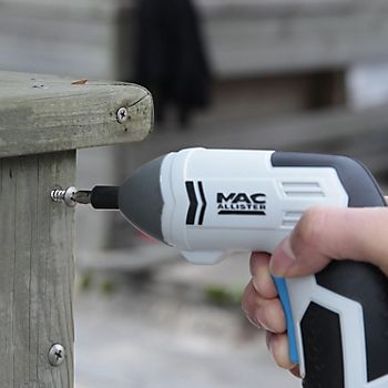 Mac Allister 3.6V Li-Ion Cordless Screwdriver