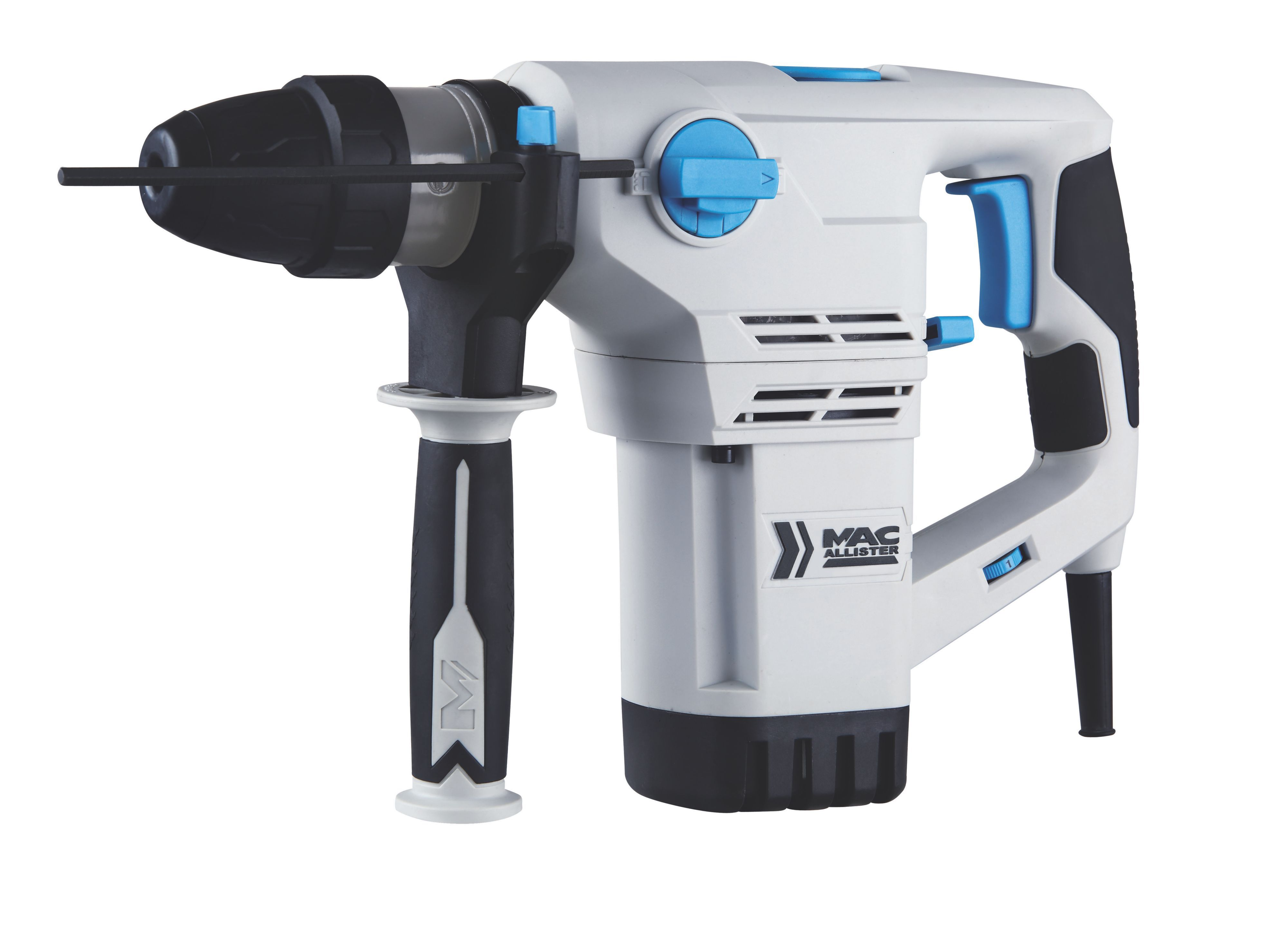 mac allister 1200w corded sds plus rotary hammer drill. Black Bedroom Furniture Sets. Home Design Ideas