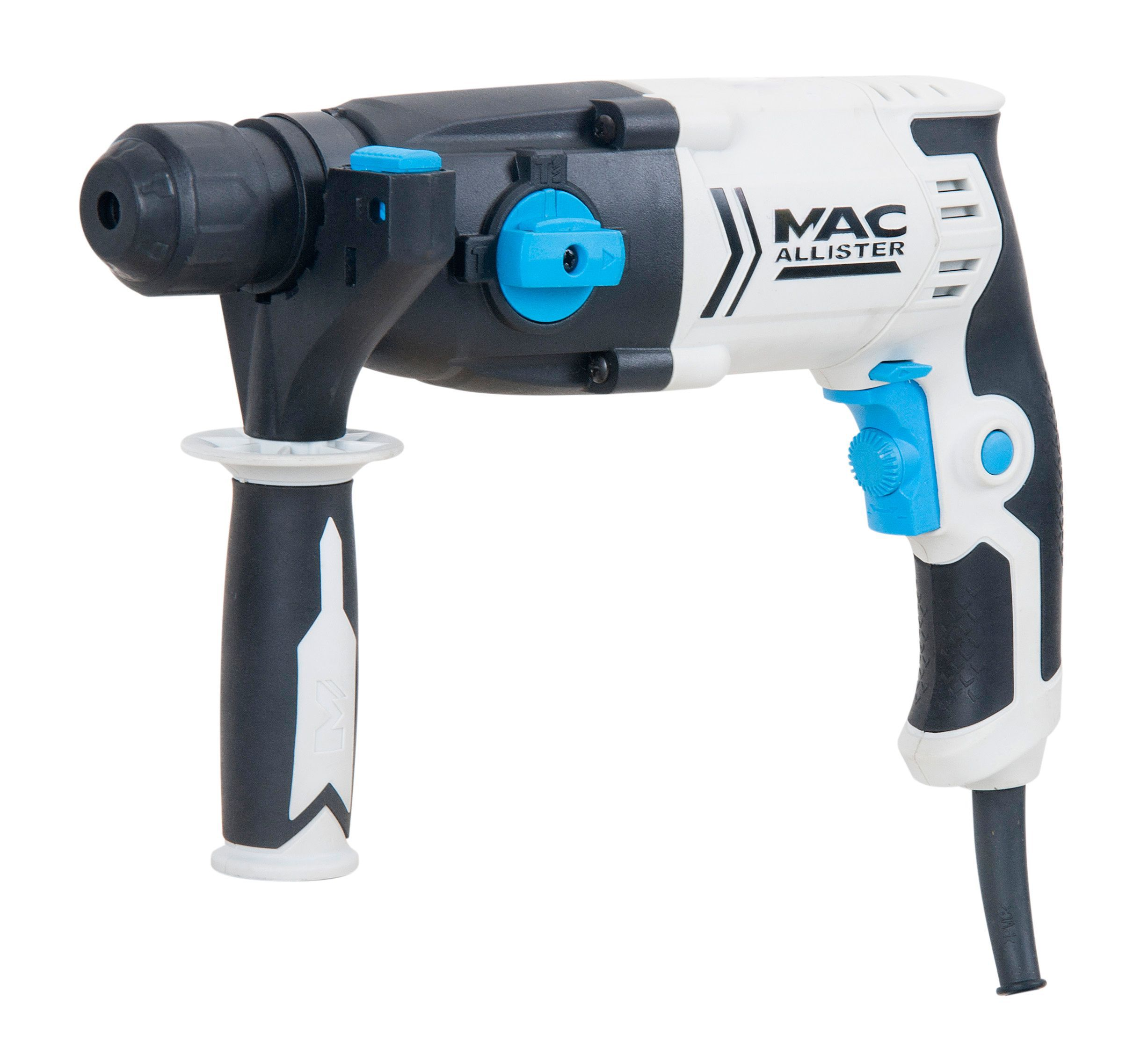 mac allister 600w corded sds plus rotary hammer drill. Black Bedroom Furniture Sets. Home Design Ideas