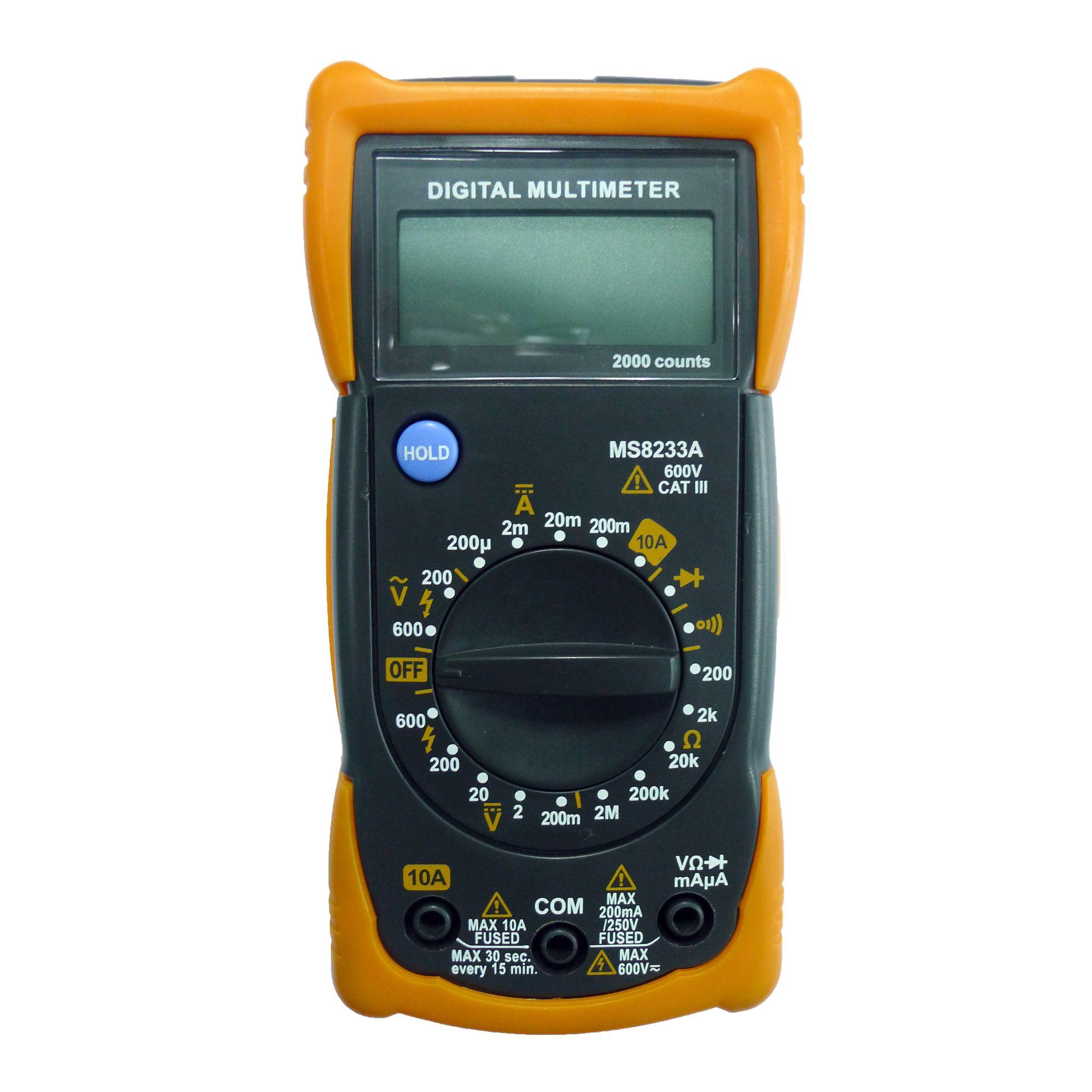 0 600v Pocket Digital Multimeter Departments Diy At B Amp Q