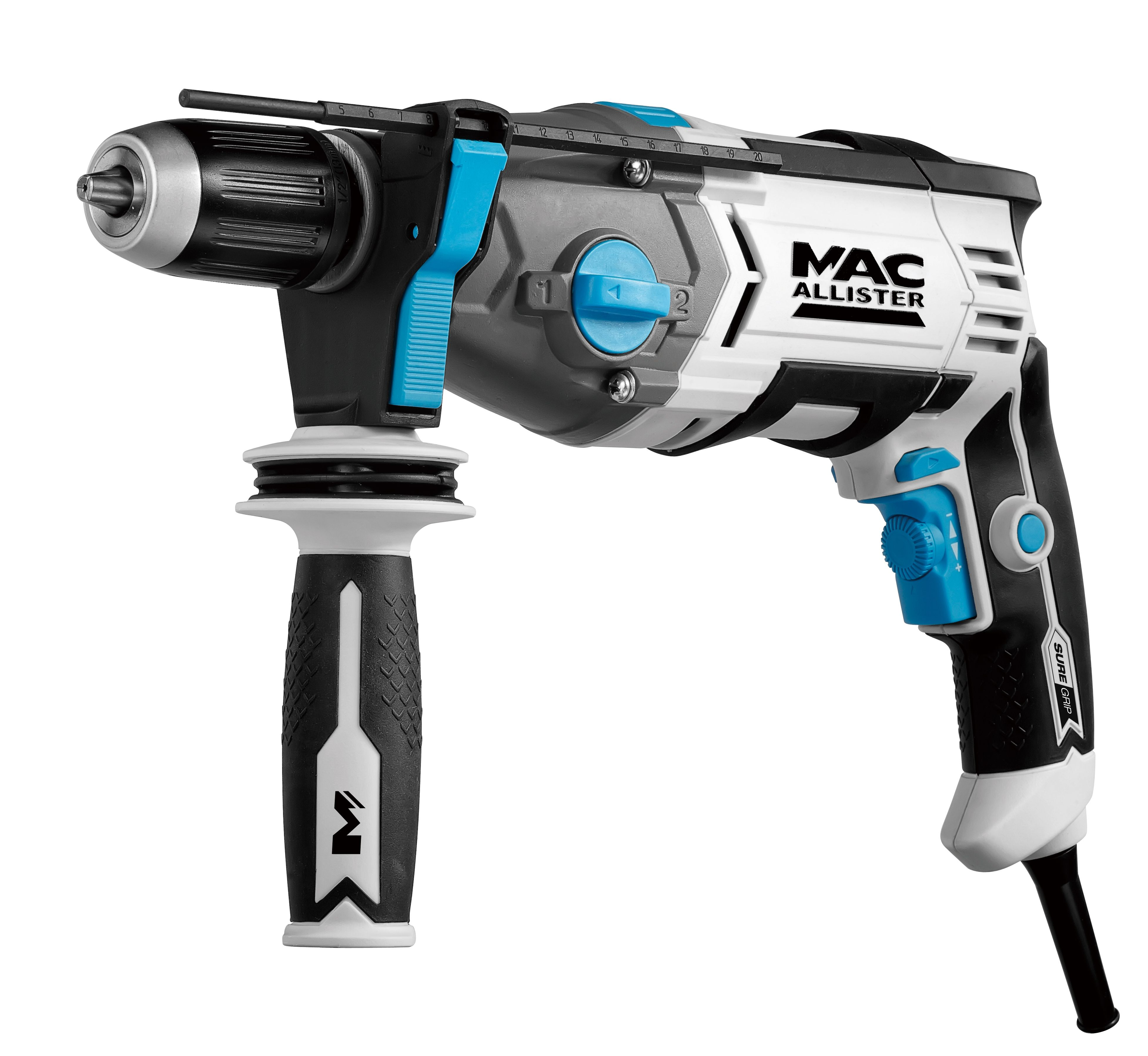 mac allister 900w corded hammer drill mehd900. Black Bedroom Furniture Sets. Home Design Ideas