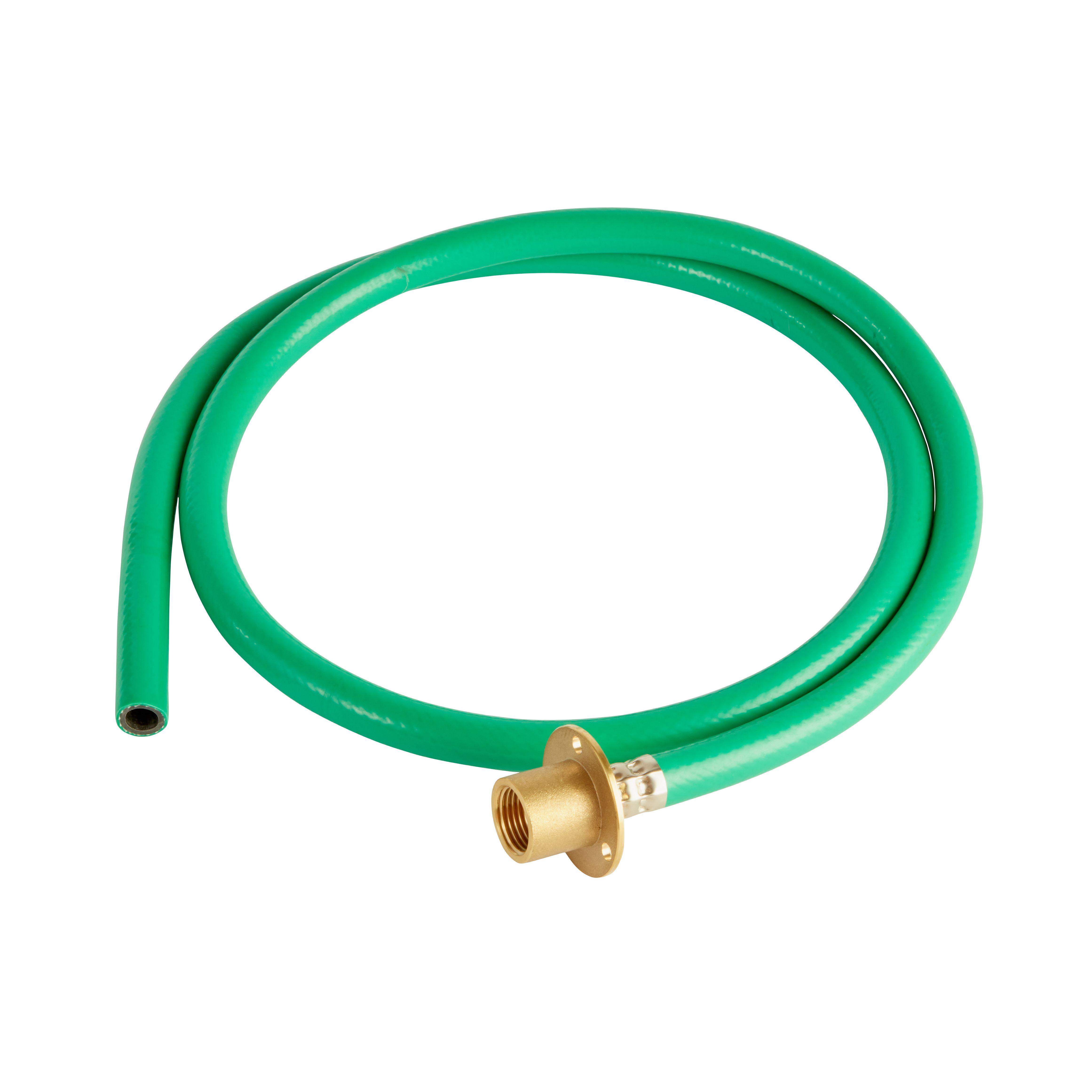 Plumbsure Brass Amp Pvc Garden Tap Kit Pack Departments