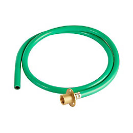 Plumbsure Brass & PVC Garden Tap Kit, Pack